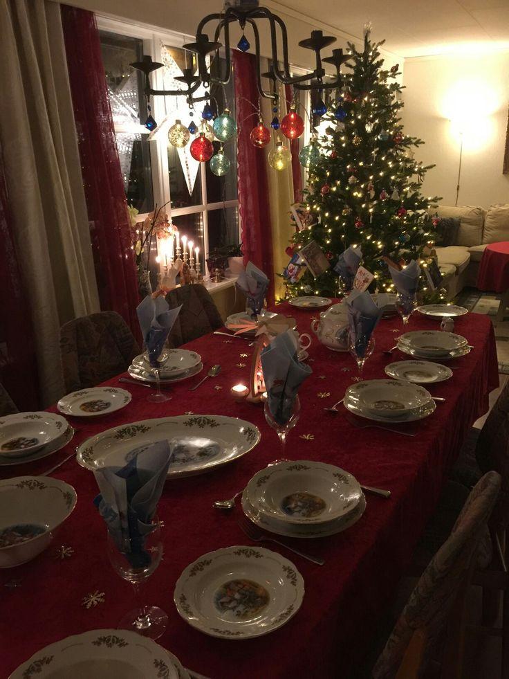 Familiemiddag julen 2016