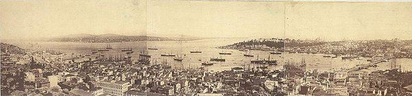 The panoramic view of #Istanbul during the #Ottoman Empire #history #turkey #city