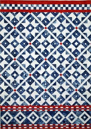 Amazing! Scandinavian Sky Quilt Pattern HMD-106 (Wall Hanging, Intermediate)