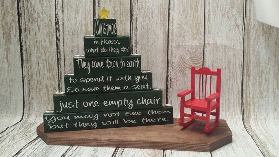 Christmas in Heaven Poem Christmas Memorial by CraftsFromKentucky