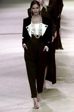 Saint Laurent Spring 2002 Couture Collection Photos   Vogue
