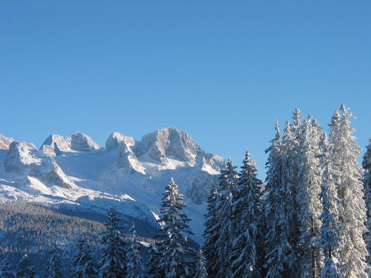 Dachstein Gletscher vom Skigebiet Dachstein West aus