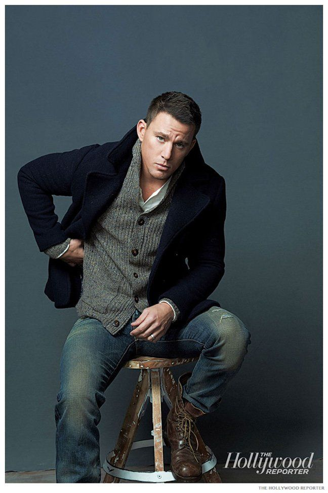 Channing Tatum Covers The Hollywood Reporter, Talks Magic Mike XXL image Channing Tatum The Hollywood Reporter Photo Shoot November 2014 002