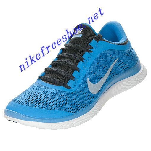 Tiffany Blue Nike Free Runs 3 Womens Nike Free Womens Distance Blue Black  White 580392 404 [Half Off Nike Frees -