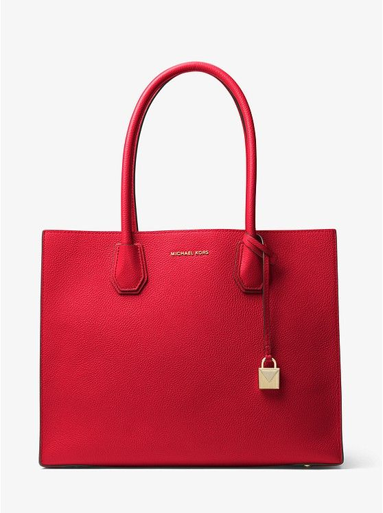 f193a3add36b Mercer Extra-Large Leather Tote | Red •☆• | Bags, Large tote ...