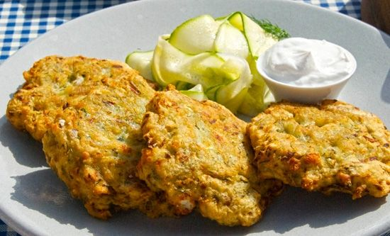 Fritters, Zucchini fritters and Zucchini on Pinterest