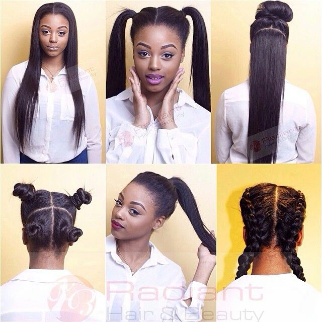 versatile weave hairstyles : sew in the new versatile way to wear your weave in 6 different styles ...