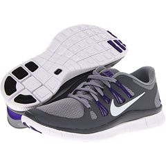 womens nike free run 5.0 purple grey