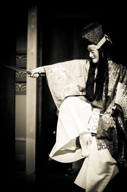 Japanese traditional Noh theater http://www.pinterest.com/hidehikomurao/japanese-art/
