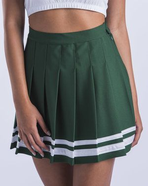 003041996f Tulane Cheer Pleated Skirt Hype and Vice cute college tailgate game day  outfits apparel