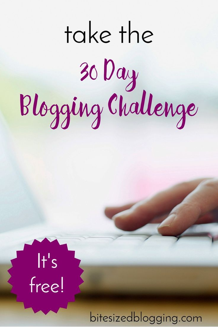 Take the free 30 day blogging challenge! Get blogging tips, blog more consistently, gain readers and subscribers!