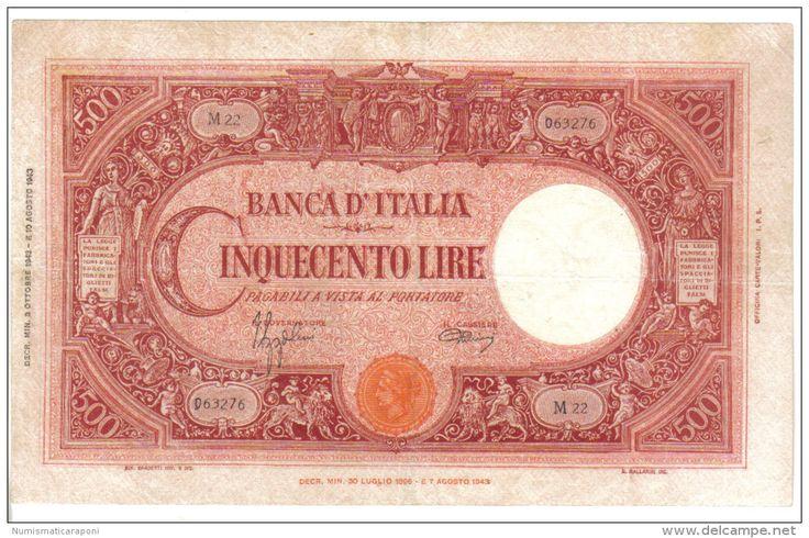 500 LIRE CAPRANESI 08 10 1943