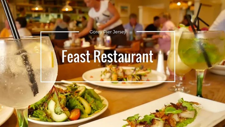 Feast Restaurant in Jersey #Videography