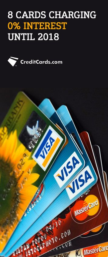 With more credit cards now offering 0% APR until 2018, chances are there is a perfect card for you. CreditCards.com has all of today's top offers to make it ridicuously easy for you to find the ideal card. Stop paying interest and start saving yourself money today.