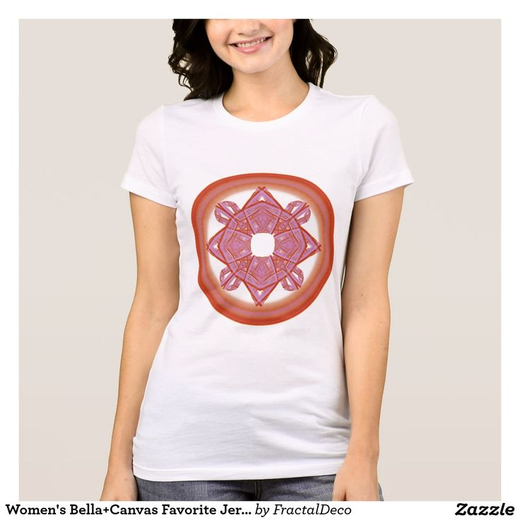 Women's Bella+Canvas Favorite Jersey Sacred T-Shirt