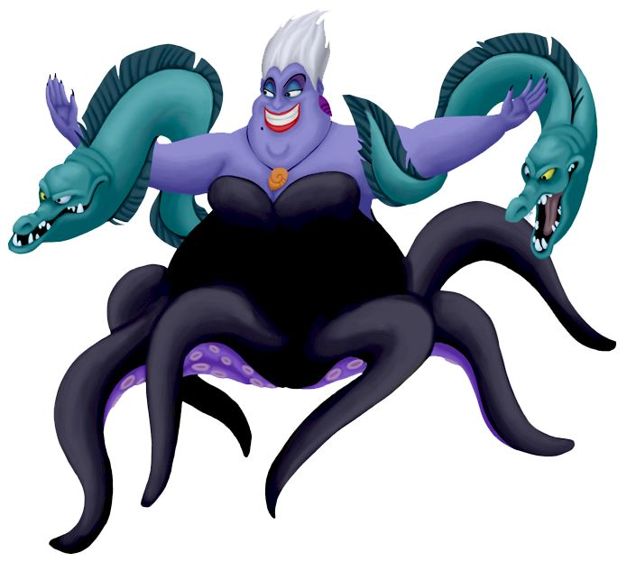 ursula with her eels halloween costumes pinterest. Black Bedroom Furniture Sets. Home Design Ideas