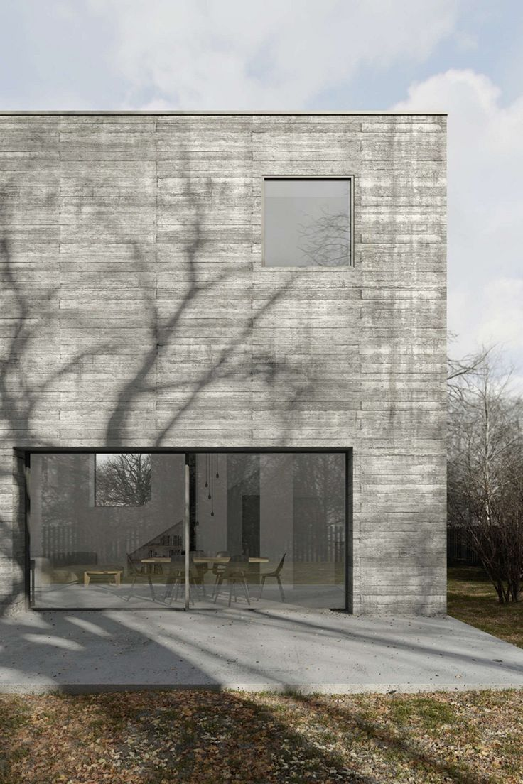 the concrete cube house