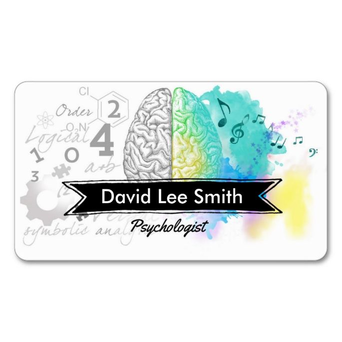 Psychologist Double-Sided Standard Business Cards (Pack Of 100). This great business card design is available for customization. All text style, colors, sizes can be modified to fit your needs. Just click the image to learn more!