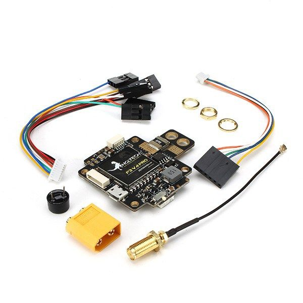 F3 V4 Flight Control Board AIO 25mW 200mW 600mW Switchable Transmitter OSD BEC PDB Current Sensor https://www.fpvbunker.com/product/f3-v4-flight-control-board-aio-25mw-200mw-600mw-switchable-transmitter-osd-bec-pdb-current-sensor/    #drones
