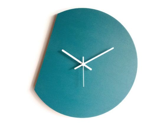 unique clock modern interior kinetic effect