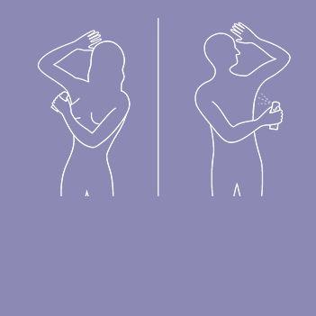 Wie kann  man weniger schwitzen?    Unangenehmes Schwitzen kann man ganz verhindern, indem man auf heißes und scharfes Essen verzichtet und keine synthetische Kleidung trägt.