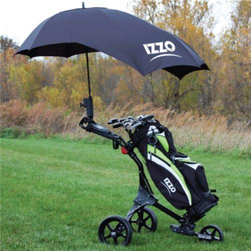 Umbrella Stand Golf: Push Cart Umbrella By Izzo Golf. Buy It @ ReadyGolf.com