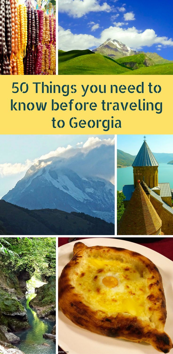 A list of everything you need to know before traveling to Georgia. From the locals to best the tourist destinations, the food, transports, and prices!  ********************************************* Reasons to visit Georgia | Visit Georgia | Why you should travel to Georgia | Things to know about Georgia | Travelling in Georgia