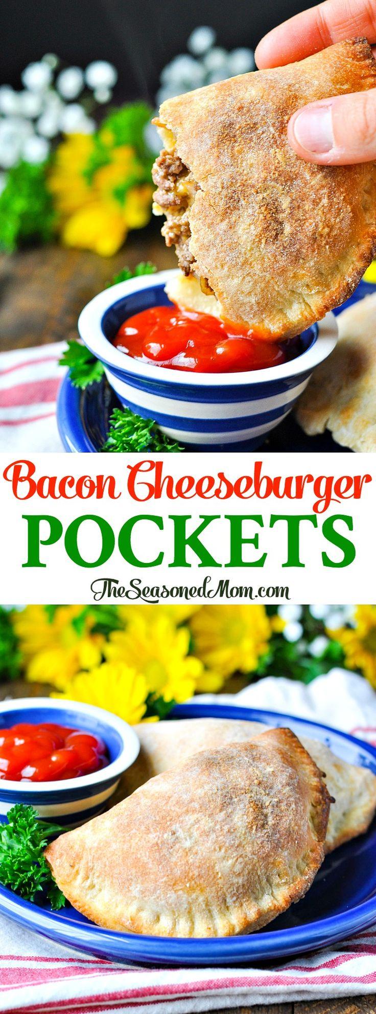 Bacon Cheeseburger Pockets
