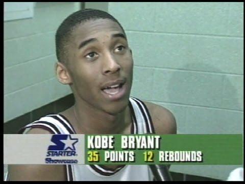 "NORRISTOWN vs LOWER MERION 1995 ""KOBE BRYANT high school game against BI..."