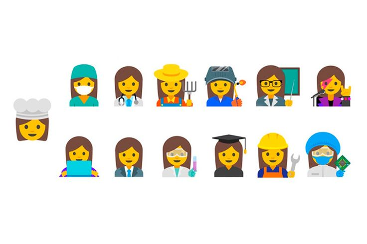"""Google quer """"emojis"""" que mostrem as profissões das mulheres #PortoCanal #Acordar #ViagemOnline #PauloFrias 23.05.2016"""