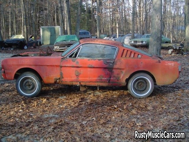 rusted out 1966 mustang - post rusty muscle car photos and project muscle cars for sale at RustyMuscleCars.com