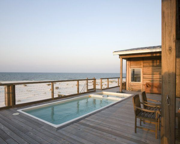 10 id es propos de piscine hors sol bois sur pinterest for Piscine bois 4x4