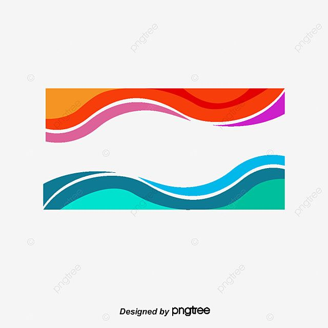 Red And Blue Wave Border Vector Png Wave Border Color Waves Png Transparent Clipart Image And Psd File For Free Download Blue Waves Red And Blue Color Wave