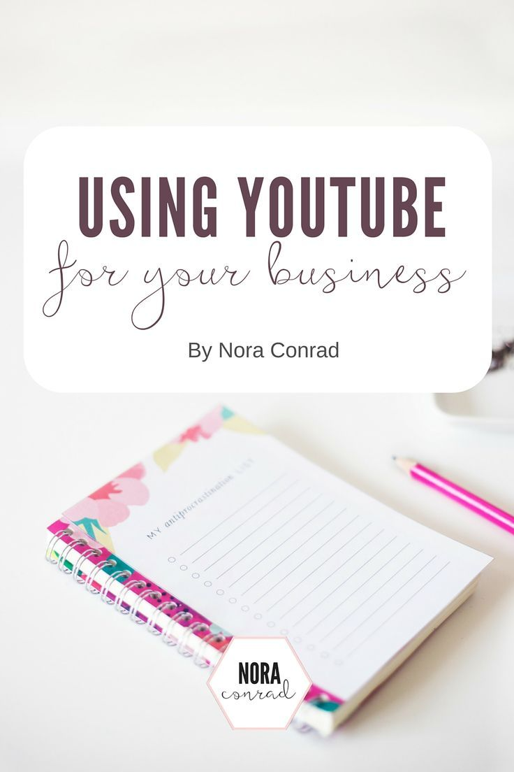 Using YouTube to grow your business: videos + helpful information!