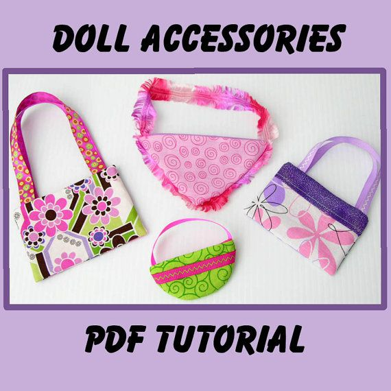 Doll purse pattern
