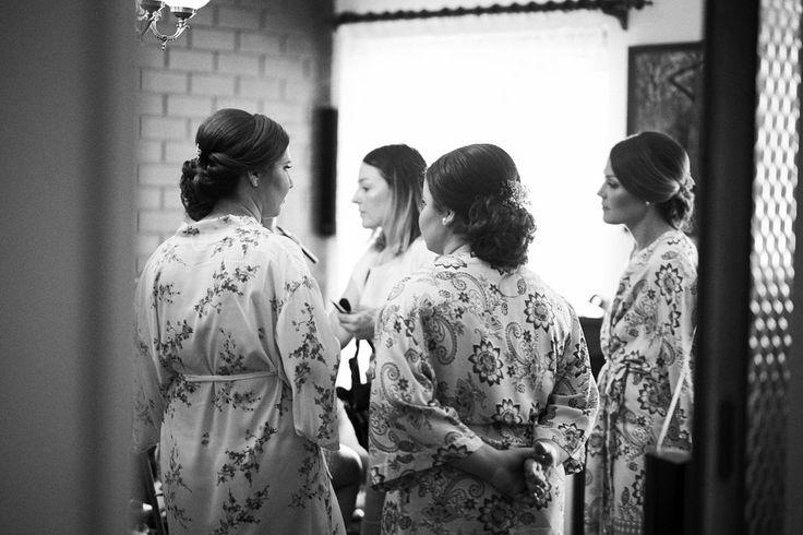 Bridemaids make up
