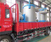 Paper pulp machine shippment