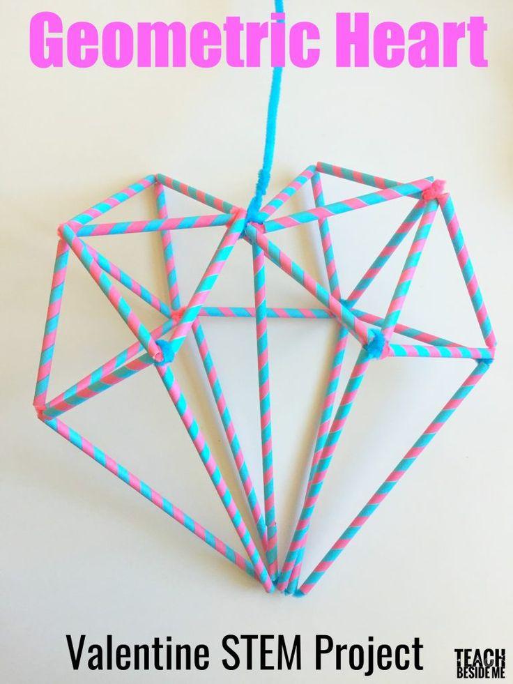 Valentine STEM- Geometric Heart