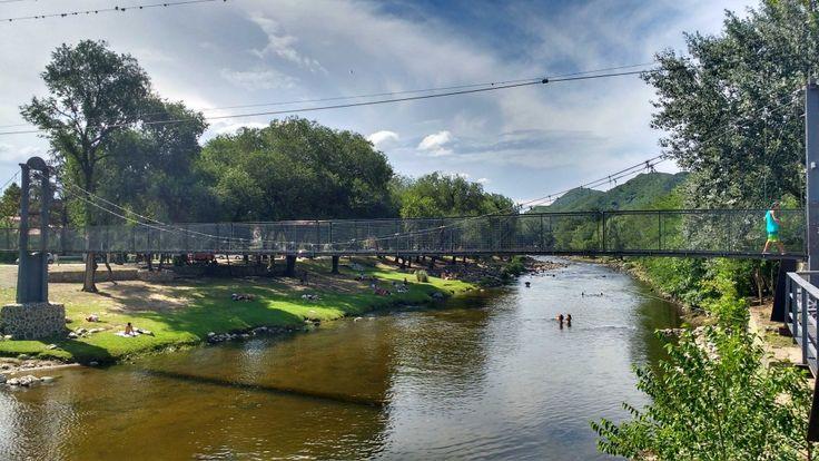 El río de Santa Rosa de Calamuchita