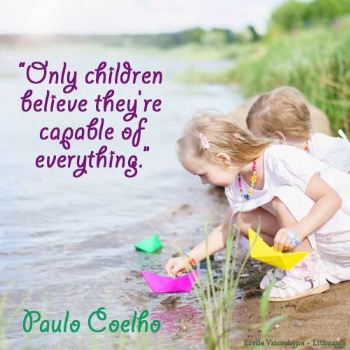 What Children Believe: Only Children Believe They're Capable Of Everything