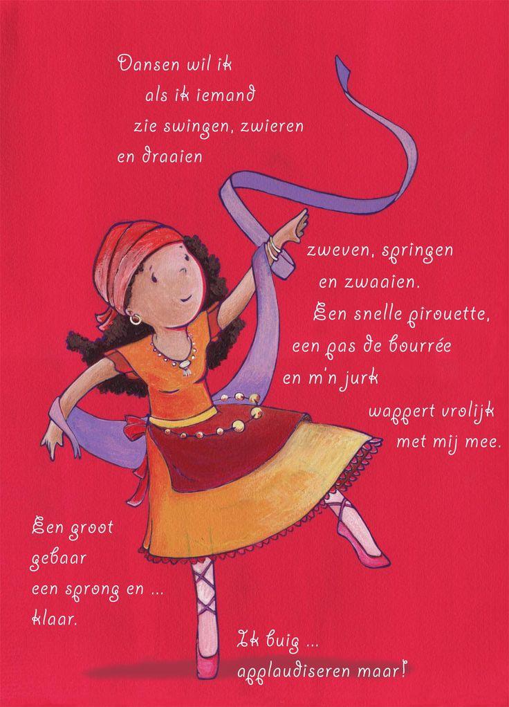 Gedicht met dans