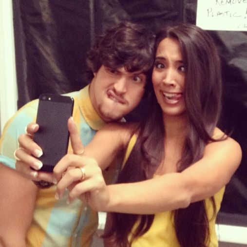 Alex & Sierra from 'X Factor' Take Hilarious Selfie - M Magazine