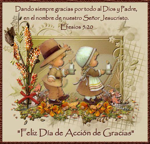 Accion De Gracias | FELIZ DÍA DE ACCIÓN DE GRACIAS - DETALLITOS CRISTIANOS - Gabito ...