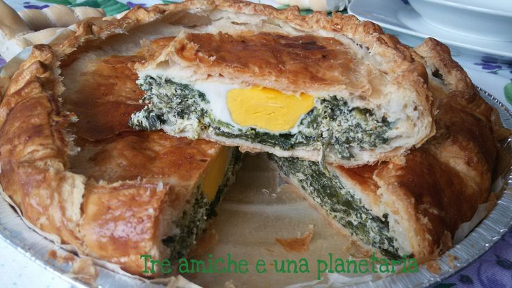 Torta pasqualina (ricetta salata)