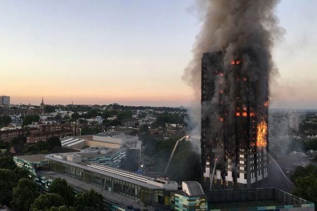 London Grenfell Tower Fire Kills at Least Several People