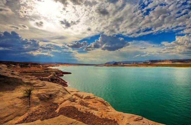 Озеро Пауэлл, Аризона, США / Lake Powell, Arizona, USA