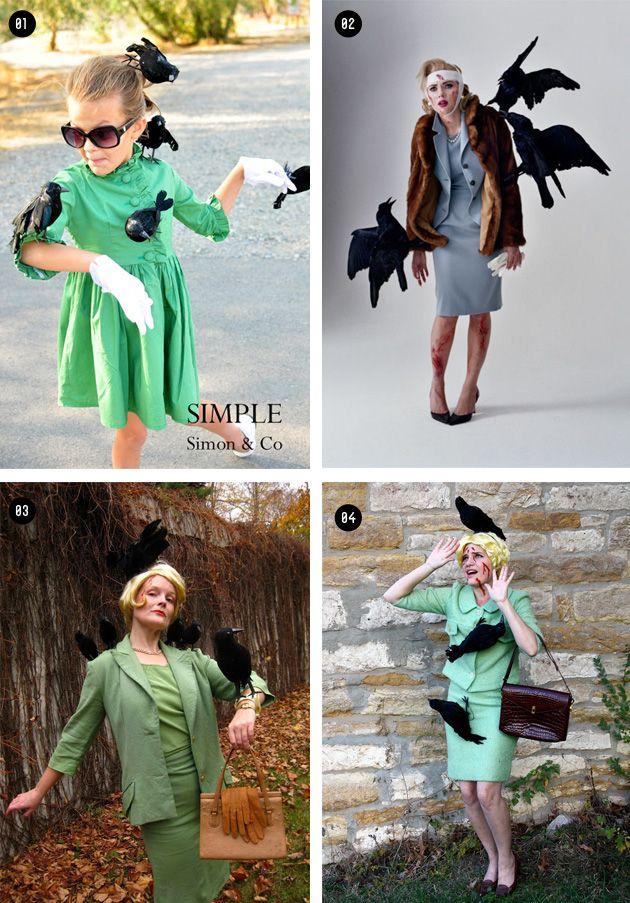 Chocoas: Disfraz Tippi Hedren en la peli los pájaros (The birds)