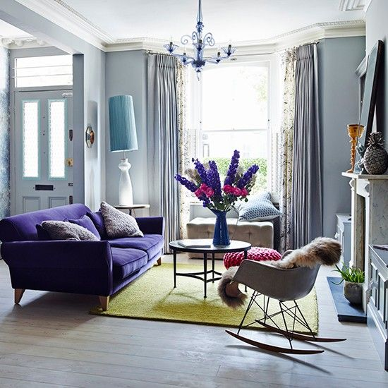Living Room | Take A Tour Around An Eclectic Home In West London With A 21st
