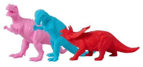 Dinosaur - Red Torosaurus - Rice DK