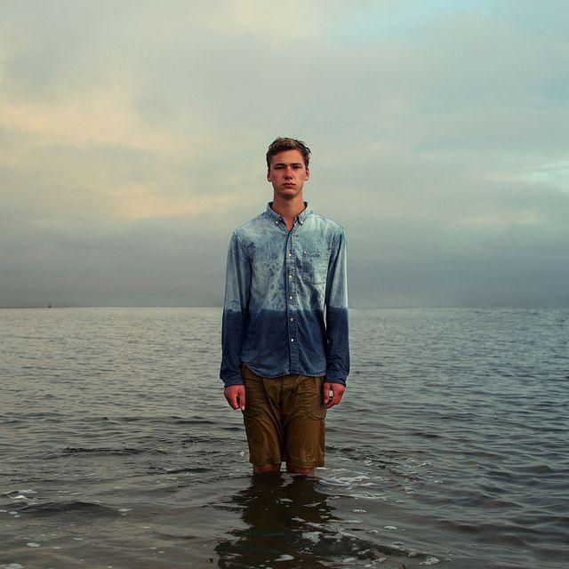 by Joeri Bosma: Selfportrait, Idea, Dips Dyes, Self Portraits, Joeri Bosma, The Ocean, Portraits Photography, Creative Photography, Joeribosma